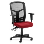 86000 Series Executive Mesh High-Back Chair-Real Red