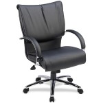 Mid-Back Dacron-Filled Cushion Management Chair
