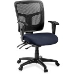 86000 Series Managerial Mesh Back Chair - Periwinkle