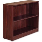Essentials Series Mahogany Laminate Bookcase