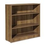 Essentials Series Walnut Laminate Bookcase