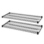 Industrial Wire Shelving - Black