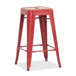 Utility Stool - Red