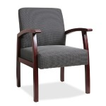 Deluxe Guest Chair - Charcoal