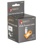 """Direct Thermal White Multi-Purpose Labels - 1-1/8"""" x 2"""", 220 Per Roll, 440 Per Box"""