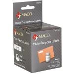 """Direct Thermal White Multi-Purpose Labels - 7/16"""" x 1-1/2"""", 300 Per Roll, 300 Per Box"""
