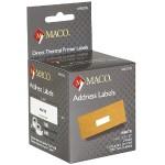 "Direct Thermal White Address Labels - 1-1/8"" x 3-1/2"", 130 Per Roll, 260 Per Box"