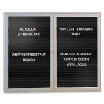 Enclosed Letterboard