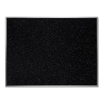 "48""W x 36""H Recycled Rubber Bulletin Board - Confetti"