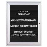 Aluminum Frame Indoor Enclosed Letterboard