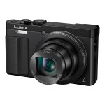 Lumix DMC-ZS50 - Digital camera - compact - 12.1 MP - 1080p - 30x optical zoom - Leica - Wi-Fi, NFC - black