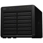 Disk Station DS3617xs - NAS server - 12 bays - SATA 6Gb/s - RAID 0, 1, 5, 6, 10, JBOD, 5 hot spare, 6 hot spare, 10 hot spare, 1 hot spare - RAM 16 GB - Gigabit Ethernet - iSCSI