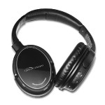 Bluetooth Headphone with Microphone - Black, Silver