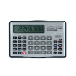 10-digit Handheld Financial Calculator - Silver