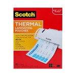 Thermal Pouches, Letter Size, 3 mil thick  8.9 in x 11.4 in 100/pack