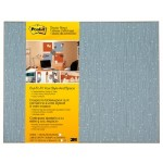 3M Self-Stick Bulletin Board, Cut-to-Fit Ice 18 in x 23 in 558F-ICE