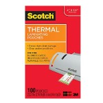 Scotch Thermal Laminating Pouches Business Card 2.32in x 3.7in 100/pack