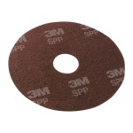 Scotch-Brite Surface Preparation Pad - Pad for floor polisher - maroon (pack of 10)