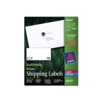 EcoFriendly Shipping Labels - Labels - paper - self-adhesive - white - 2 in x 4 in 250 pcs. (25 sheet(s) x 10)