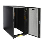 Carbon CR24U11001 - Rack - cabinet - black, RAL 9005 - 24U - 19""