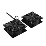 2 Roof mounted Rack Fans