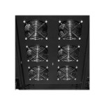 Carbon CRA12001 - Rack fan tray - AC 208/240 V - black