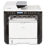 SP 325SFNw - Multifunction printer - B/W - laser - A4 (8.25 in x 11.7 in), Legal (8.5 in x 14 in) (original) - A4/Legal (media) - up to 30 ppm (copying) - up to 30 ppm (printing) - 300 sheets - 33.6 Kbps - USB 2.0, LAN, Wi-Fi, NFC