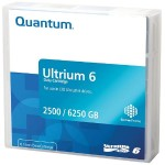 LTO Ultrium 6 Data Tape Cartridge - 2.5TB Native Capacity / 6.25TB Compressed Capacity - Black