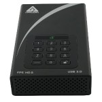 Desktop 10TB FIPS 140-2 Validated 256-Bit Encrypted Hard Drive