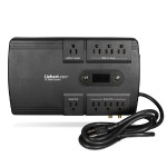 850VA 500W Battery Backup & Surge Protector PST4 UPS, 8-outlets, TAA Compliant