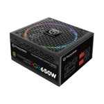 ToughPower Grand RGB TPG-650AH3FSG-R - Power supply (internal) - ATX12V 2.4/ EPS12V 2.92 - 80 PLUS Gold - AC 100-240 V - 650 Watt - active PFC - United States - black