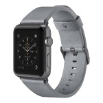 Classic Leather Band for Apple Watch 42mm - Gray