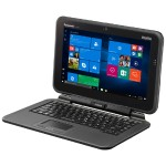 """Toughpad FZ-Q2 - Tablet - with detachable keyboard - Core m5 6Y57 / 1.1 GHz - Win 7 Pro (includes Win 10 Pro License) - 8 GB RAM - 128 GB SSD - 12.5"""" touchscreen 1920 x 1080 (Full HD) - HD Graphics - Wi-Fi, Bluetooth - with Toughbook Preferred"""