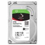 2TB IronWolf Pro 7200RPM SATA 6Gb/s 128MB Cache 3.5-Inch NAS Hard Disk Drive