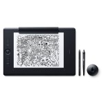 Intuos Pro Paper Edition Large - Digitizer - 12.2 x 8.5 in - multi-touch - electromagnetic - wireless, wired - USB, Bluetooth - black
