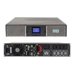 9PX 9PX1500GRT - UPS (rack-mountable / external) - AC 200/208/220/230/240 V - 1350 Watt - 1500 VA - RS-232, USB - output connectors: 8 - 2U - black, silver