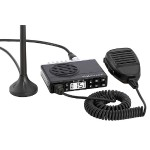 Midland MicroMOBILE Fixed-Mount GMRS 2-Way Radio with Magnetic Mount Antenna MXT100