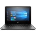 "ProBook x360 11 G1 EE Notebook PC - 1.1 GHz Intel Celeron N3350, 4GB DDR3L-1600 SDRAM, 64 GB eMMC, Intel HD Graphics 550, Gigabit Ethernet, WiFi and Bluetooth 4.2 Combo, 11.6"" diagonal HD SVA eDP LED slim touch screen, Windows 10 Professional 64-bit"