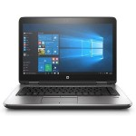 "HP Inc. Smart Buy ProBook 640 G3 Intel Core i5-7200U Dual-Core 2.50GHz Notebook PC - 8GB RAM, 256GB SSD, 14"" FHD SVA eDP LED, DVD-Writer, Gigabit Ethernet, 802.11a/b/g/n/ac, Bluetooth, Webcam, 3-cell (48 WHr) Li-Ion 1BS12UT#ABA"