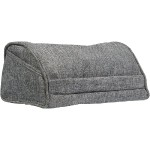Executive Tablet Pillow (Gray Linen)