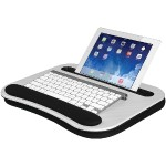 Deluxe Media LapDesk (White Carbon)