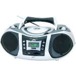 Portable MP3 & CD Player with AM/FM Radio