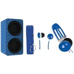 Naxa Electronics Portable Bluetooth Speaker Pack - Blue NAS-3061A BLUE