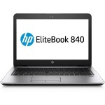 "EliteBook 840 G4 Intel Core i5-7300U Dual-Core 2.6GHz Notebook PC - 8GB RAM, 256GB Z Turbo Drive SSD, 14"" LED FHD Touchscreen, 802.11 a/b/g/n/ac (2x2), Bluetooth 4.2, Webcam, 3-cell 51Wh Li-ion"