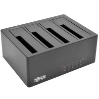 TrippLite 4-Bay USB 3.0/eSATA to SATA Docking Station with Cloning, 2.5 in. to 3.5 in. SATA Hard Drives U339-004