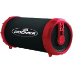 BOOMER Portable Bluetooth Speaker - Red