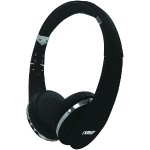 NEURALE Bluetooth Wireless Stereo Headphones with Microphone - Black