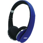 NEURALE Bluetooth Wireless Stereo Headphones with Microphone - Blue