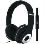 Naxa Electronics BACKSPIN Pro Headphones with Microphone - Black NE-943 BLACK