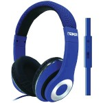 BACKSPIN Pro Headphones with Microphone - Blue